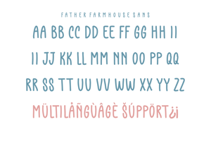 Father Farmhouse Sans