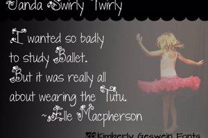 Janda Swirly Twirly
