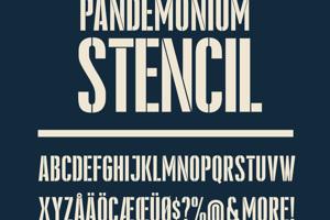 Pandemonium Stencil