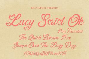 Lucy Said Ok