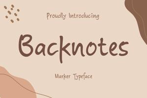 Backnotes