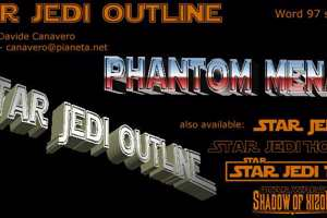 Star Jedi Outline