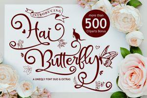 Hai Butterfly Sans