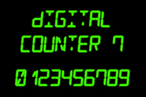 Digital Counter 7