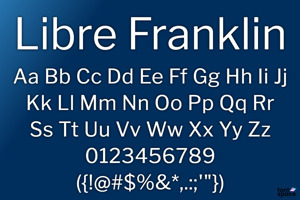 Libre Franklin