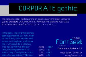 Corporate Gothic NBP