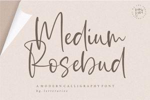 Medium Rosebud
