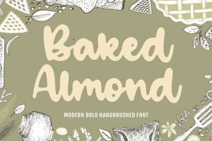 Baked Almond