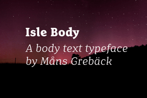 Isle Body