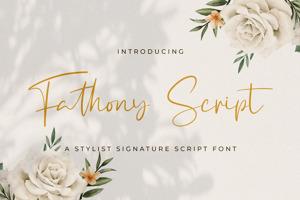 Fathony Script
