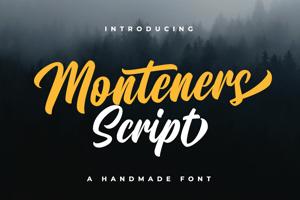 Monteners Script