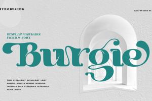 Burgie Black