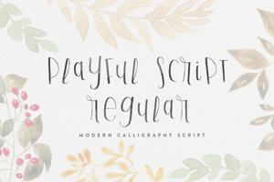 Playful Script