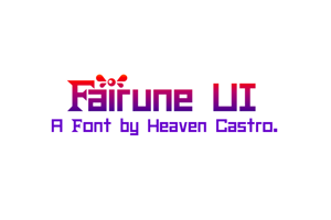 Fairune UI CHMC