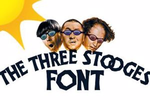 The Three Stooges Font
