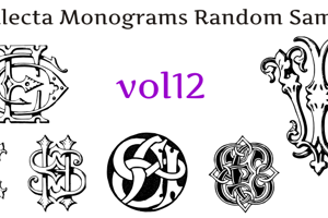 Intellecta Monograms Random Twelve