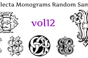 Intellecta Monograms Random Twelve