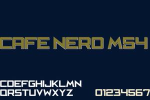 Cafe Nero M54