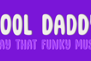 DK Cool Daddy Outline