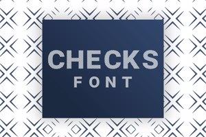 Checks Font