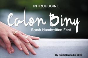 Calon Binni Demo