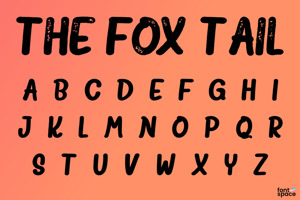 The Fox Tail Sans