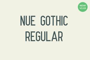 Nue Gothic