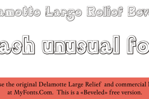 DelamotteLargeRelief Beveled