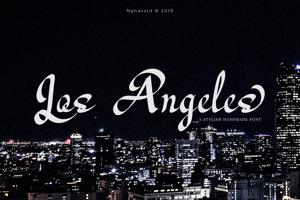 Los Angeles - Modern Script