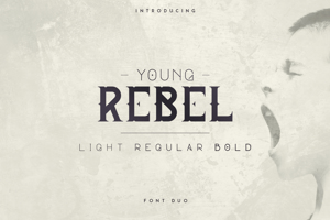 YOUNG REBEL FONT