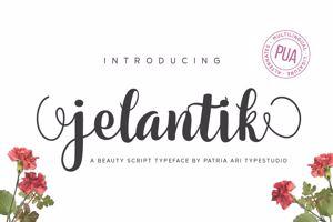 Jelantik Script