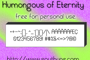 Humongous of Eternity St