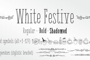White Festive
