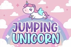 Jumping Unicorn