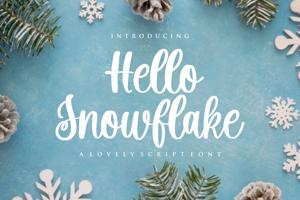 Hello Snowflake