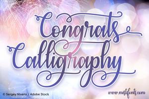 Congrats Calligraphy