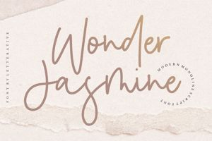 Wonder Jasmine