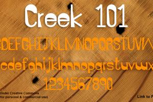 Creek 101
