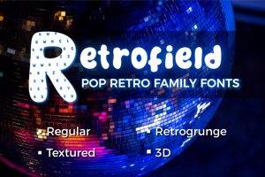 Retrofield Textured