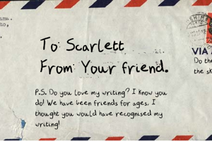 A Letter From a Friend