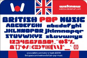 British pop Music