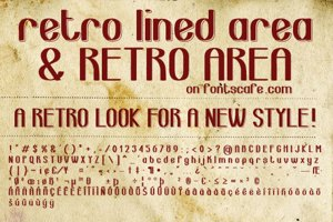 retro lined area