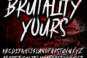 BRUTALItY YOURS  DEMO