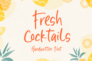 Fresh Cocktails