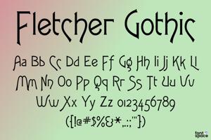Fletcher Gothic FLF
