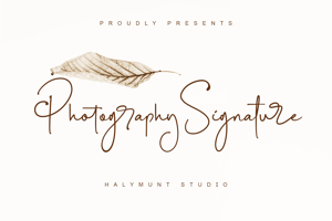 Photography Signature