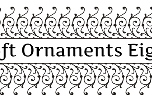 Soft Ornaments Eight