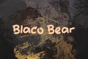 b Blaco Bear