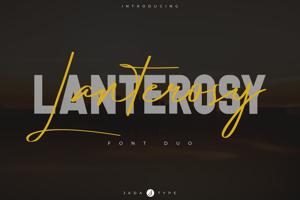 Lanterosy Font Duo