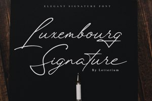 Luxembourg Signature